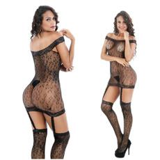 sexy Women's Fashion, bodystocking, Fish Net, opencrotchbodystocking