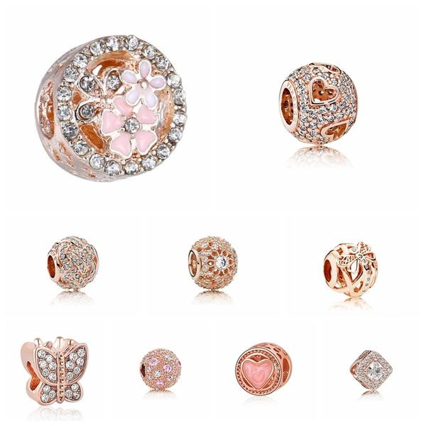 Charm Bracelet, charmbead, crystalbead, Crystal Jewelry