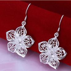 Flowers, Jewelry, Stud Earring, Rose