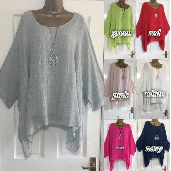 blouse, Bat, Plus Size, 34sleeve