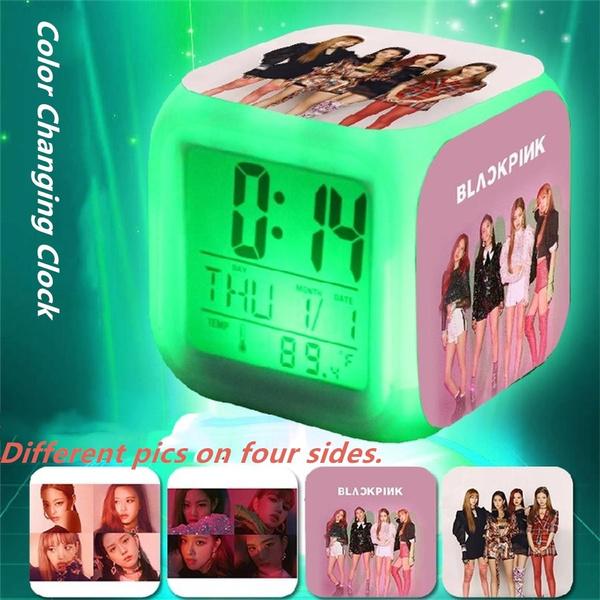 blackpinkcolorchangingclock, newalbum, Radios & Alarm Clocks, kpopblackpink