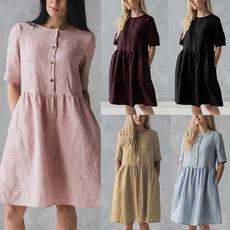 blouse, Summer, Plus Size, longtop