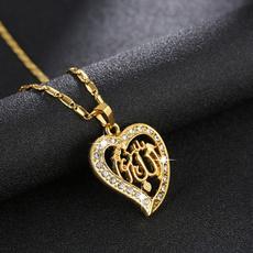 DIAMOND, Jewelry, gold, women necklace