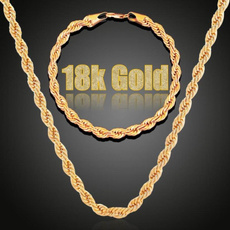 clavicle  chain, Chain Necklace, 18k gold, Jewelry
