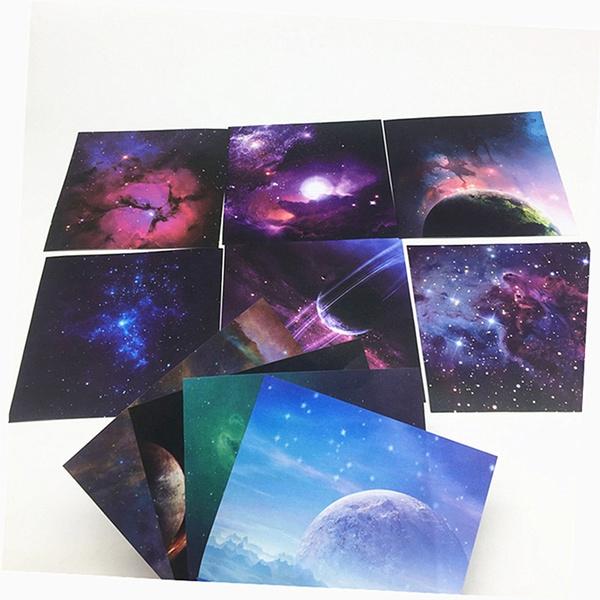 art, Scrapbooking, universeplanet, moonpapercard