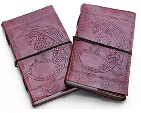 sketchbook, Celtic, Gifts, leather