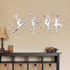 Ballet, Wall Art, Home Decor, 3dwallsticker