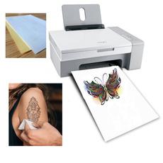rawpaper, tattoo, a4paper, temporarytattoopaper