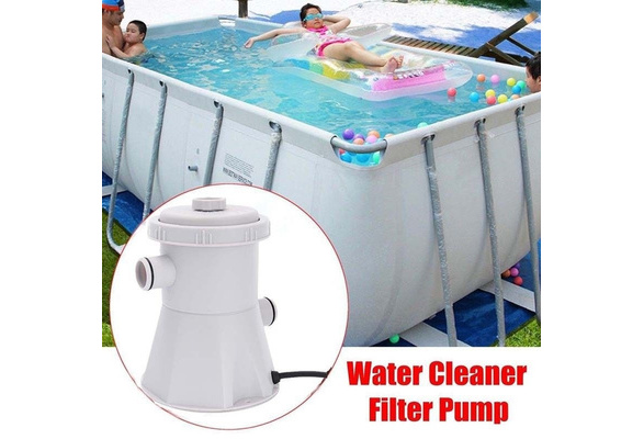 Swimming Pool Filter Pump Set Swimming Pool Filter Hot Tub Drain Pump Electric Water Pump For Removing Impurities In Swimming Pool//Pond//Hot Tub//Cellar 21x21x22cm