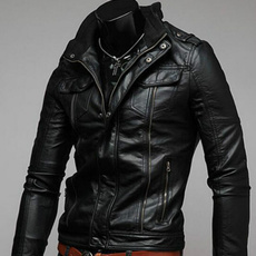 Fashion, leatherjacketman, leather, Coat