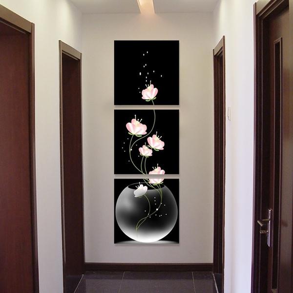 Decor, Flowers, Home Decor, canvaspainting