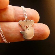 cutekoalanecklace, koalacharm, Necklace, Jewelry