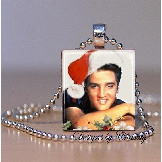 Elvis, Jewelry, scrabble, Christmas