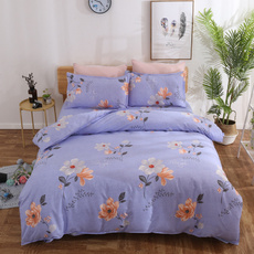 King, Polyester, Flowers, Home Decor