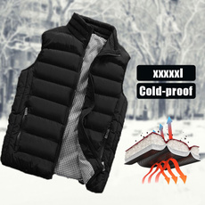 Vest, Plus Size, Winter, fit