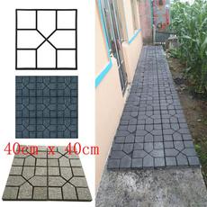 mould, lawnpath, Garden, stonemold