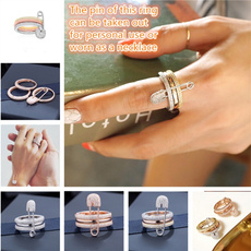 Sterling, Tail, wedding ring, 925 silver rings