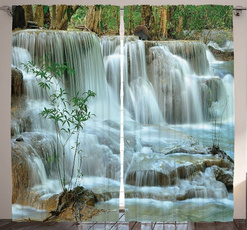 Decor, Garden, Nature, Shower Curtains