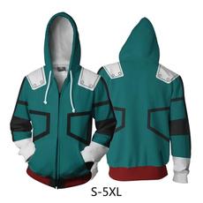 3D hoodies, myheroacademiacosplay, printed, Women Hoodie