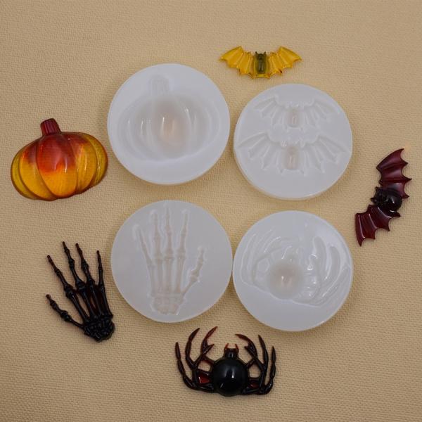 Bat, Skeleton, Jewelry Making, spidermold