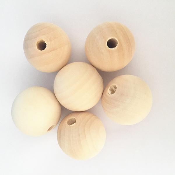 woodbeadsfornecklace, diyjewelryfinding, babyteetherbead, woodenbead