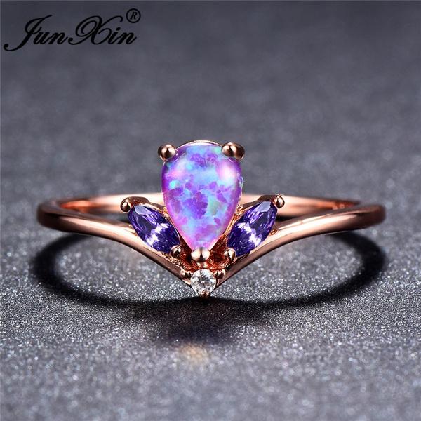 bluefireopal, DIAMOND, gold, Engagement Ring