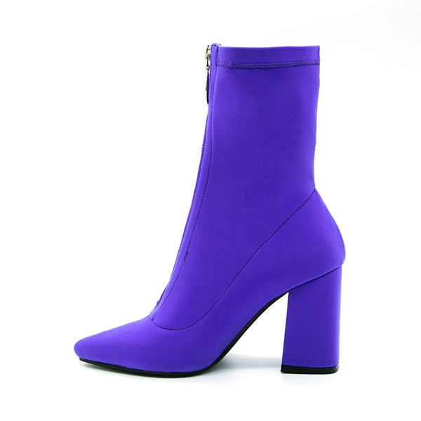 ankle boots, sockbootie, Spring/Autumn, Womens Shoes