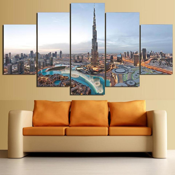 Beautiful, dubai, Wall Art, dubaioilpainting