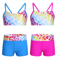 Summer, Fashion, kidsgirlsswimsuit, bowknot