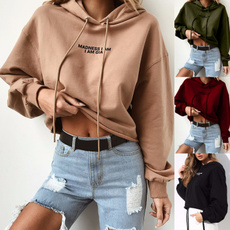 blouse, Fashion, hooded, Sleeve