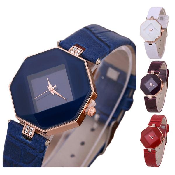 luxurybrandwatch, Women's Wristwatches, leather strap, leather