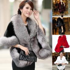 fauxfurcoat, Winter, Shawl Wrap, Coat
