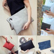 Fashion, leather purse, envelopeclutch, party bags