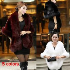 ladiesshawl, fur coat, wintercape, Cashmere