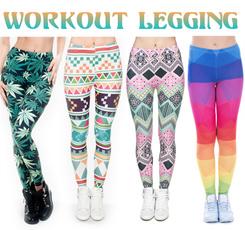 Summer, Ejercicio, trousers, Women Leggings