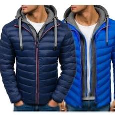 Plus Size, Winter, Coat, slim