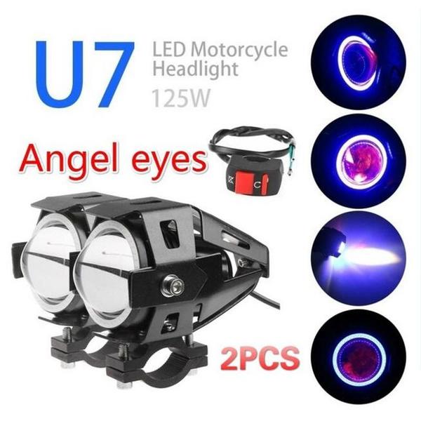 motorcycleheadlight, Waterproof, lights, bicycleheadlight