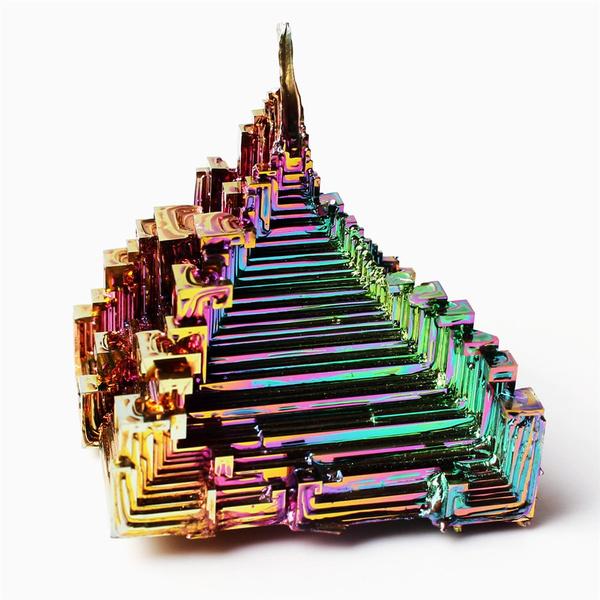 rainbow, Decor, bismuth, Minerals