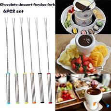 Forks, Steel, tablewarefork, chocolatefork
