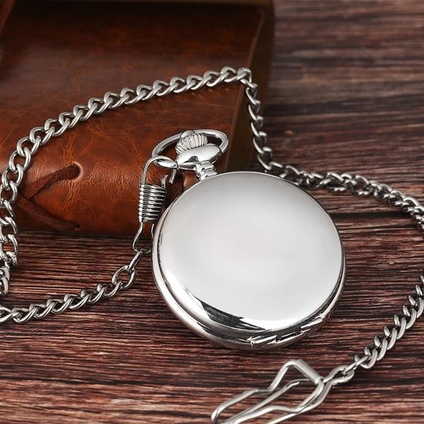 Hunter, Pocket, dial, quartz