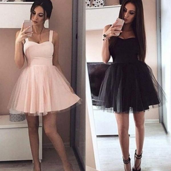 women sexy dress, cute, pleated dress, Skirts
