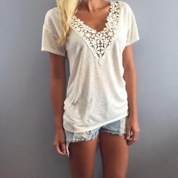 blouse, Shorts, Tank, Shirt