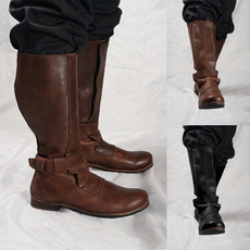 Shoes, Leather Boots, Winter, leather