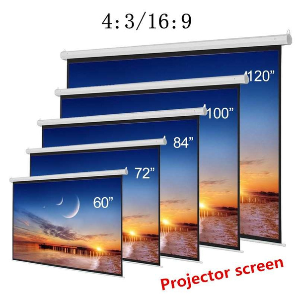 Home & Kitchen, Office Supplies, 120inch, projector