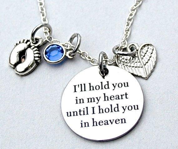 Heart, giftforherbirthday, Jewelry, memorialnecklace