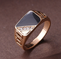 DIAMOND, wedding ring, 925 silver rings, Classics