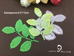 Craft, stencilstemplate, craftscrapbooking, leaf