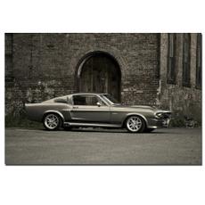 sportscar, retromustang, Wall Art, Home Decor