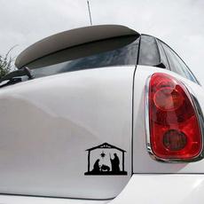 Car Sticker, Decor, Christmas, Decals & Bumper Stickers