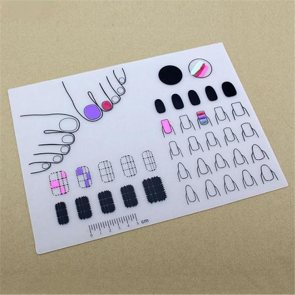 Mini, fingernailsmat, Stamping, art